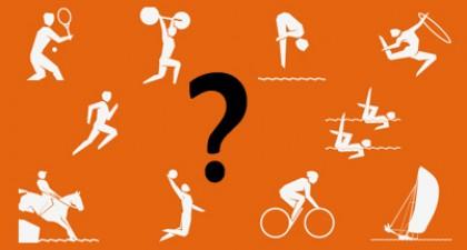 Welke atleet beoefent welke sport?