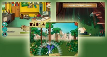 De Elfenheuvel: Spelletjes