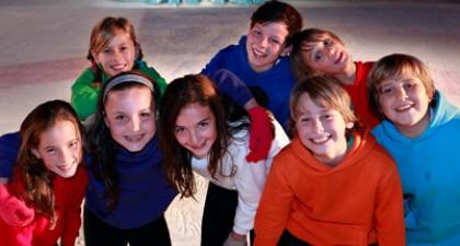 Ketnet On Ice schaatsers