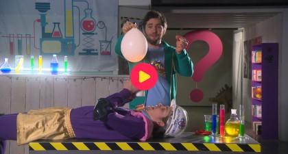 Proef 4: Ballon boven kaars