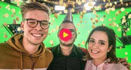 Surprise! Thomas verrast Karrewiet met hun Gouden K-nominatie!