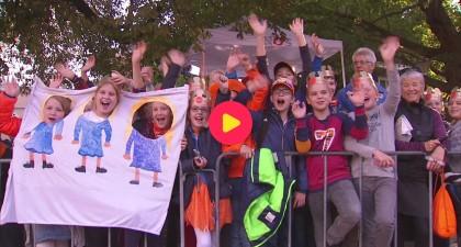 Nederland viert Prinsjesdag