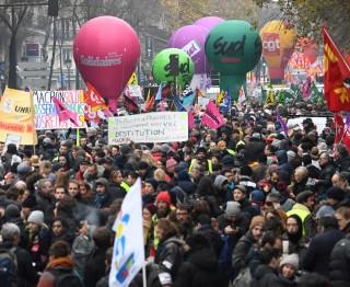 Grote staking in Frankrijk