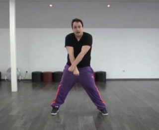 Dans zelf de choreografie van Amazing