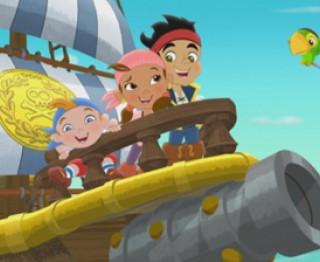 Jake en de nooitgedachtenland piraten: het verhaal