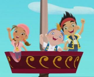 Jake en de nooitgedachtenland piraten: wie is wie?