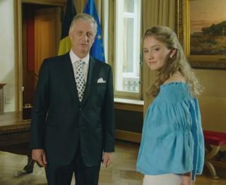 koning Filip en kroonprinses Elisabeth