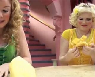 Prinsessentip: Servetten vouwen