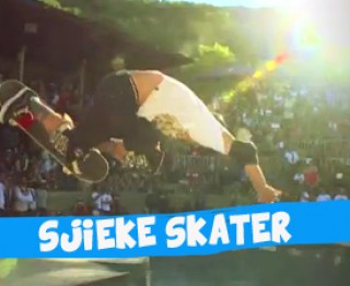 Sjieke skater