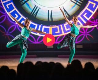 Als Ollie moet je toch wat balletskills hebben: kijk snel hoe Yoni en Leonie het ervan afbrengen in hun ballet battle!