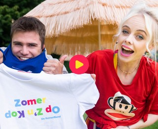 Win een zomers T-shirt van De KetnetBand