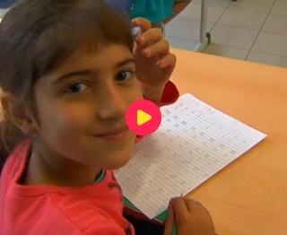 Fatima naar school